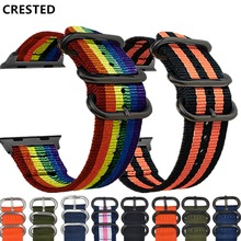 Sport strap For Apple watch band 4 42mm 38mm 3 iwatch band 44mm 40mm correa nylon Watchband Bracelet belt watch Accessories 2/1 strap for apple watch band apple watch 4 3 2 iwatch band 42mm 44mm 38mm 40mm correa bracelet silicone watchband belt accessories