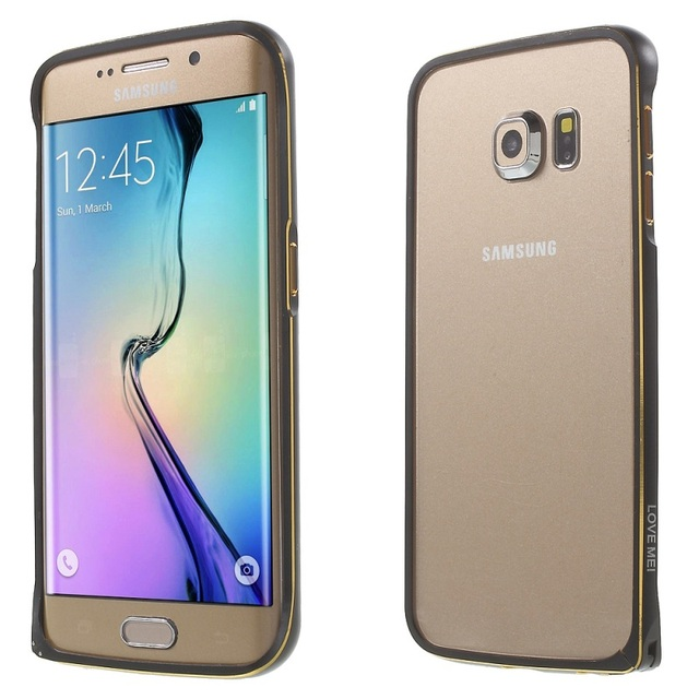 the best attitude 276e1 ffc59 US $4.39 |Phone Cases for Galaxy S6 edge LOVE MEI Metal Bumper Case for  Samsung Galaxy S6 Edge G925 Curved Edges Hippocampal Buckle on  Aliexpress.com ...