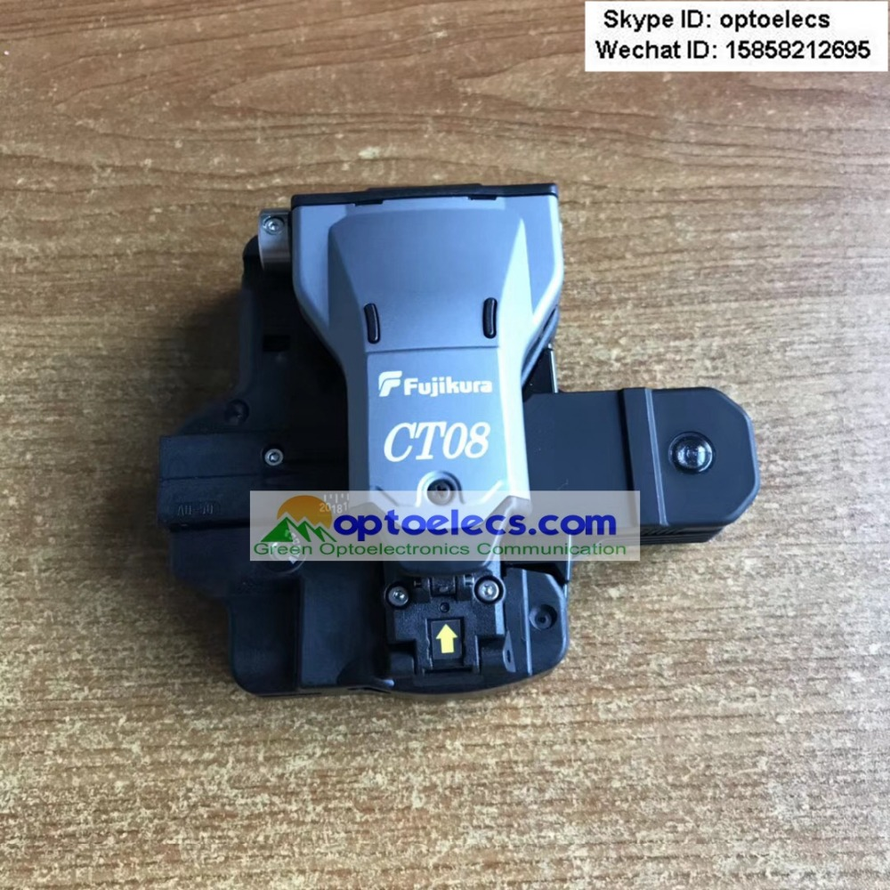 DHL Free Shipping ORIGINAL newest Fujikura CT08 CT 08 high precision optical fiber cleaver 100 new