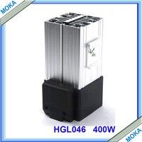 400w Compact Design Industrial Fan Heater Clip Fixing Al Alloy Fan Heater 230VAC HGL 046 400W