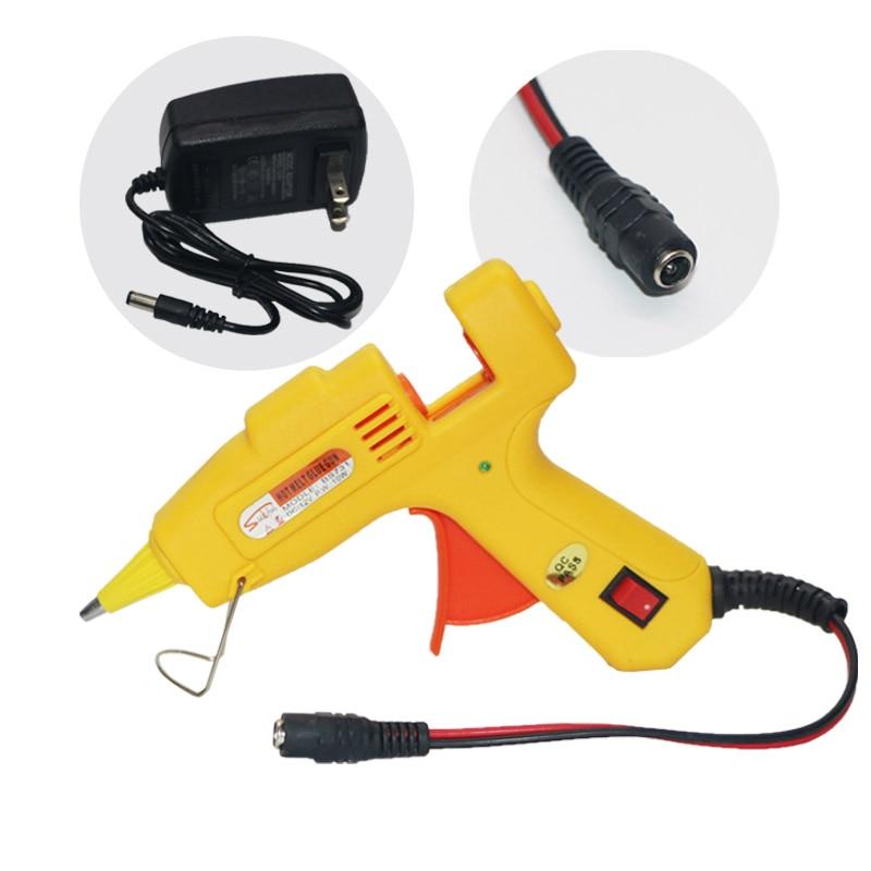 12V 10Wホットメルト接着剤銃ACからDCアダプターXT60 - パワーツール - 写真 2