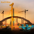 KAIDIWEI 1:64 Scale Engineering Vehicle Diecast Spin Drilling Rig Car Alloy Model Kids Toy