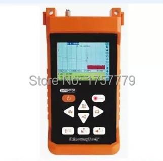 Instrumento de Teste óptico ShinewayTech S120B 1310/1550nm 30/28dB Fibra Óptica OTDR Optical Time Domain Reflectometer