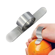 2016 New Kitchen Tools Stainless Steel Orange Peeler Device Parer Finger Type Sharp Blade Easy Open