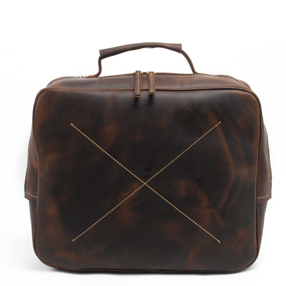 New Pattern Leather Man Handbag Restore Ways Crazy Horsehide Single Satchel Time Head Layer Cowhide Business Affairs Package muchuan cloth 2014 european restore ancient ways trend man single shoulder package diagonal package ma am leisure time package