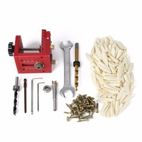 DWZ Pocket Hole Drill Guide Dowel Jig Woodworking Joinery For Kreg Carpentry Kit