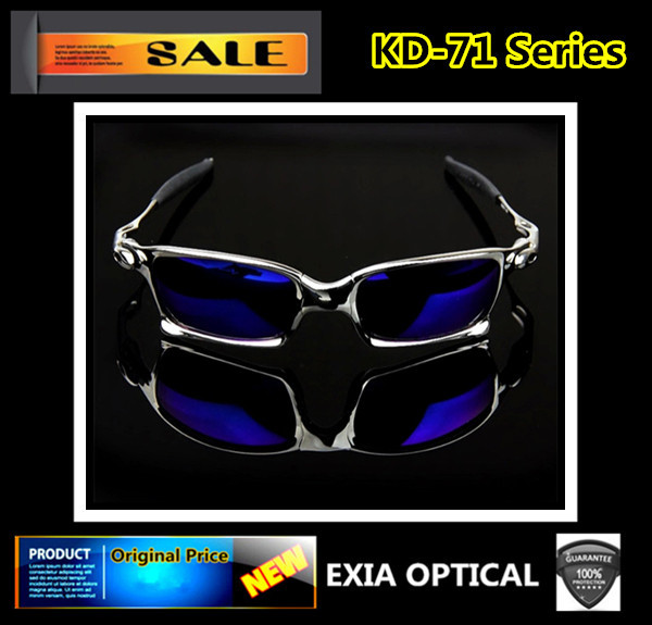 Luxury Sunglasses REVO Mirror Prescription Optical Polarized Sun Glasses Men Sport EXIA OPTICAL KD-71 Series