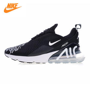 check out 3a2e2 ccf8e Nike BQ0742 Air Max 270 Men s Running Shoes Black Red Shock Absorption Wear