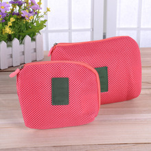 Organizer System Kit Case Portable Storage Bag Digital Gadget Devices USB Cable Earphone Pen Travel Cosmetic Insert Organizer