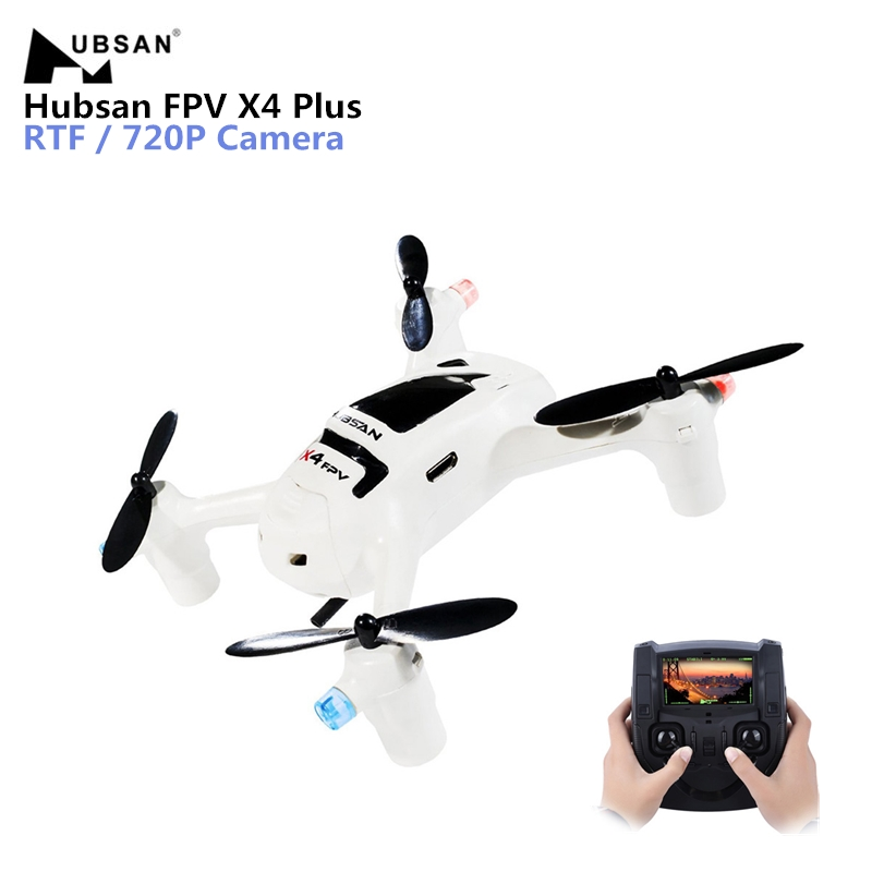 X4 Plus H107D + Zangão Hubsan FPV Com 720 p HD Camera 6-Axis Gyro RC Quadcopter Zangão ORKUT ampla Ângulo Da Câmera RC Quadcopter