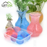 WITUSE Free Shipping 2000PCS Multi Colors Crystal Soil Mud Grow Water Beads Cute Hydrogel Gel Jelly