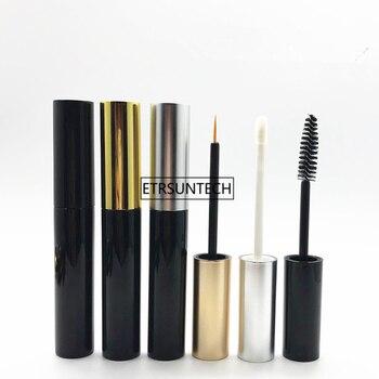 100pcs 10ml Empty black Plastic Mascara Tube,Cosmetic Makeup Eyelashes Refillable Bottle,Lip Gloss Bottle F2298