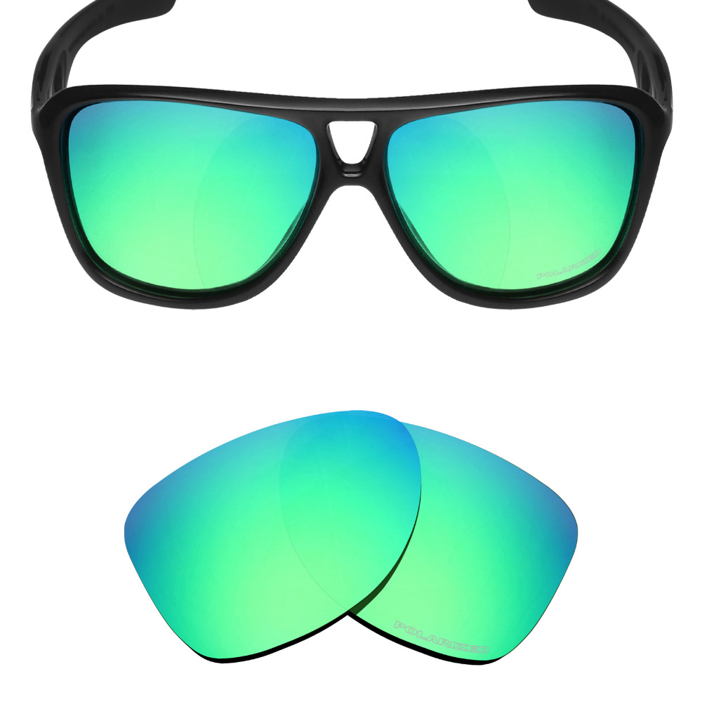 3abcfd10d2 HKUCO Mens Replacement Lenses For Oakley Frogskins Lite Sunglasses Blue Black  Polarized HKUCO INC