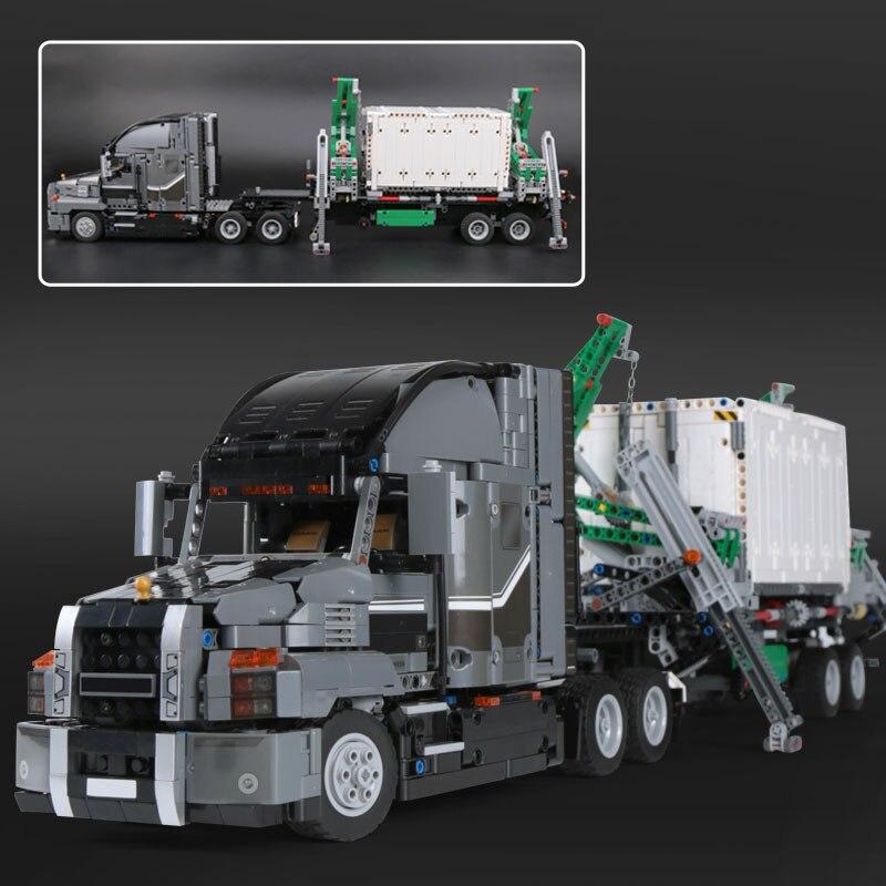 Lepin 20076 nouvelle Série Technique Le Mack Gros Camion Ensemble Blocs de Construction Briques Éducatifs LegoINGlys 42078 Pour enfants Comme Cadeaux