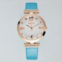 2017 Kezzi Model New Vogue Ladies Wristwatch Leather-based strap Analog Show Quartz Informal Watch ok1353 Feminino Relogio