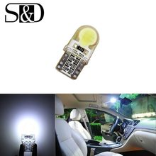 T10 COB SMD Weiß W5W Led-lampe 501 dash lampe led birnen fürs auto innenbeleuchtung Car Light Source park D020(China)