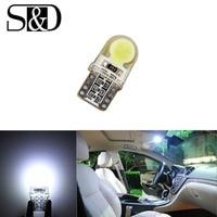 T10 COB SMD Wit W5W LED Lamp 501 dash lamp led auto lampen interieur Verlichting Auto Lichtbron parking D020