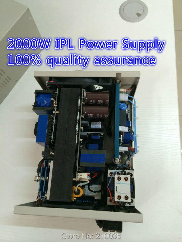 Hot sale 2000w ipl power supply for IPL/E-LIGHT/RF/SHR Beauty Machine with top quality laser ipl shr e light beauty machine handle connector with factory wholesale price