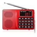 Falante originais L-258 FM/AM/SW Multibanda Locutor de rádio MP3 Player Display LCD FM Suporta Controle de Volume do Altifalante