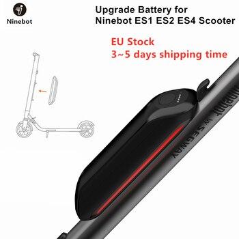 Batería de actualización Original de la UE para Ninebot ES1 ES2 ES4 KickScooter plegable Scooter eléctrico inteligente Skateboard batería Extra
