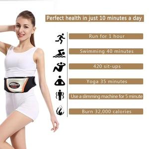 Image 4 - الخصر تهتز مدلك ، الكهربائية الجسم التخسيس حزام مدلك حرق العضلات الدهون فقدان الوزن المتقلب أدوات الرعاية الصحية