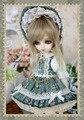 Tea Rose Dress Suit (6pcs) for BJD Doll 1/6 YOSD Doll Clothes LF48