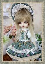 Tea Rose Dress Suit 6pcs for BJD Doll 1 6 YOSD Doll Clothes LF48
