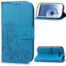 Cover For Samsung Galaxy S3 i747 T999 i535 Case Flip PU Leather + Silicone Mobile Holster Fundas For Samsung S3 I9300