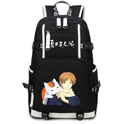 Style japonais Anime Natsume Yuujinchou sac à dos lycéen unisexe cosplay sac à dos