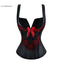 Women's Steampunk Gothic Overbust Corset