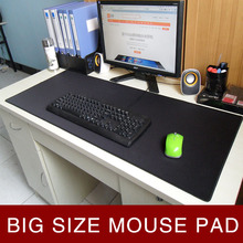 Large Gaming Mouse Pad Red/Blue/Black Locking Edge Mousepad Mouse Mat Keyboard Mat Table Mat Non-Skid Rubber For Dota 2 CS Go rakoon 30 80cm large gaming mouse pad all black faced red blue black green lock edge rubber speed mouse mat for pc laptop