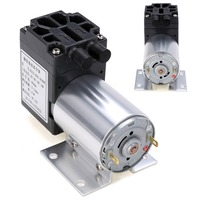 1pc DC 12V 6W Mini Vacuum Pump 5L Min High Pressure Suction Diaphragm Pumps With Holder