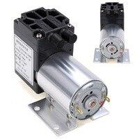 1pc DC 12V 6W Mini Vacuum Pump 5L Min High Pressure Suction Diaphragm Pumps With Holder