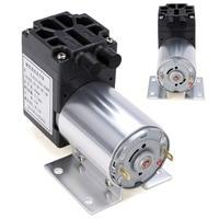 1 pz DC 12 V 6 W Mini Vacuum Pump 5L/min Alta Pressione di Aspirazione Pompe A Membrana con Supporto Mayitr