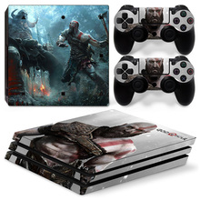 God Of War PS4 Pro Skin Sticker Decal Cover