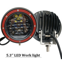 5 inch led work light driving lamp 12V 24V Car Offroad 4x4 truck spotlight for Jeep Truck Tractor Boat ATV SUV 4WD