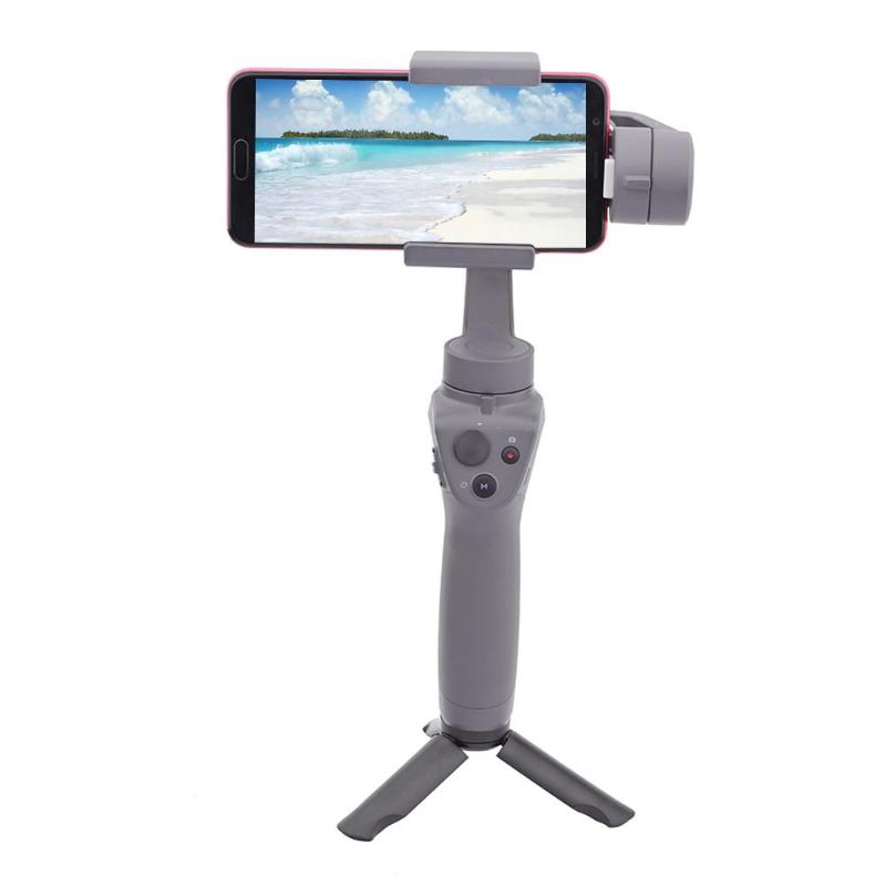 ALLOYSEED Foldable Handheld Gimbal Stabilizer Tripod Stand For DJI OSMO Mobile 2/Zhiyun Smooth Gimbal Accessories Base Tripod 11