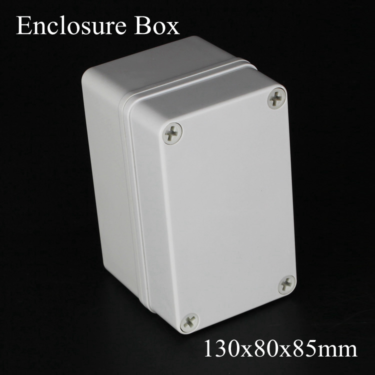 130*80*85MM IP67 New ABS electronic enclosure box  Distribution control network cabinet switch junction outlet case 130x80x85MM  цена и фото