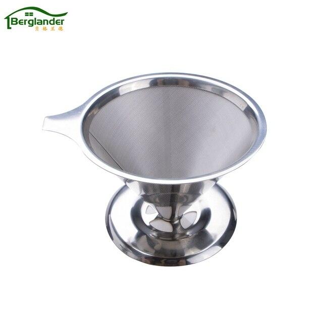 Kaffeefilter Edelstahl berglander edelstahl kaffee filter körbe hochwertiger membran