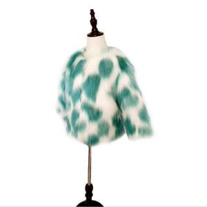 Image 5 - LILIGIRL Mädchen Winter Faux Pelz Jacke kinder Warme Mantel für Baby Bunte Outwear Jungen Hohe Qualität Pelz Jacken Tops kleidung