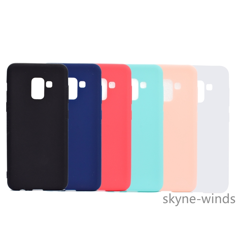 Phone Case For Samsung Galaxy A8 <font><b>2018</b></font> SM-A530F Soft Silicon TPU Back Cover Cases For Samsung A <font><b>5</b></font> <font><b>2018</b></font> SM A530F A530 Back Cover image