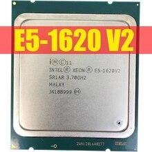 โปรเซสเซอร์ Intel Xeon E5 1620 V2 E5 1620 V2 CPU L3 = 10MB 3.7GHZ LGA 2011 Server 100% ทำงานอย่างถูกต้องโปรเซสเซอร์เดสก์ท็อป