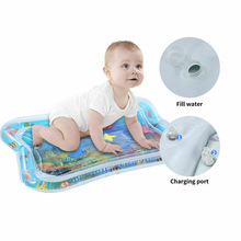 New Hot Baby Inflatable Patted Water Play Pad Tummy Time Toy Baby Prostrate Water Filled Cushion