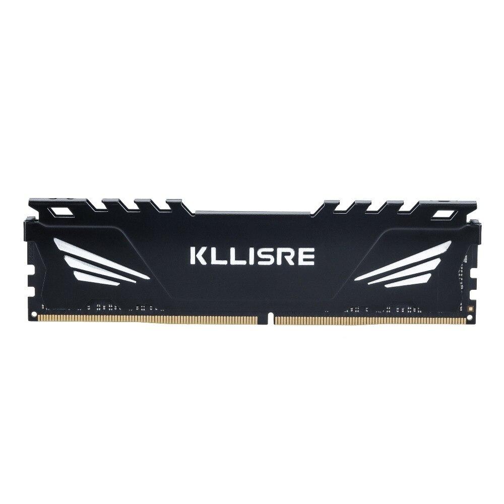 Kllisre ddr4 16GB 2400MHz DIMM Desktop Memory non ECC ram 16G