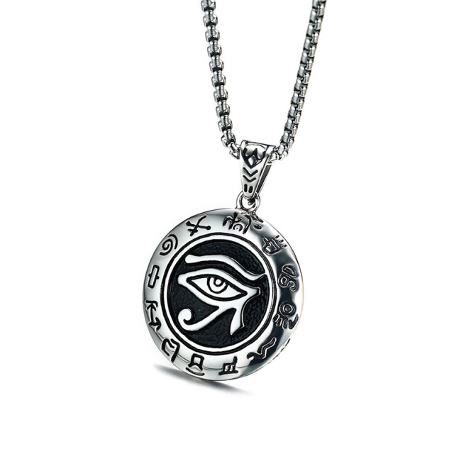 Unique Mens Necklaces Egyptian Eye Of Horus Necklace Pendant Jewelry