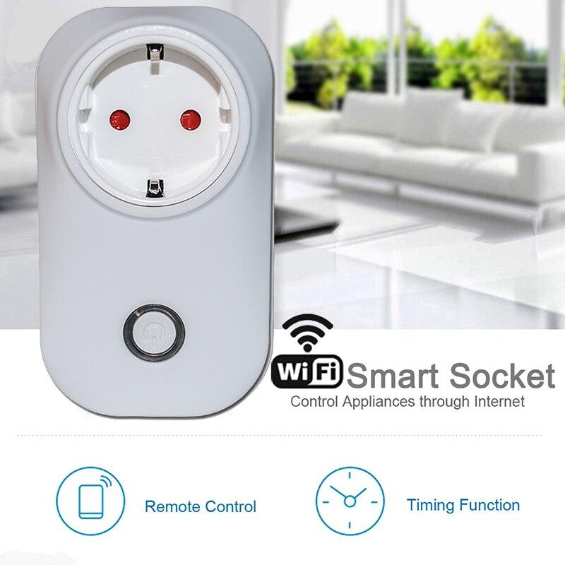 ChoiFoo Alexa sprachsteuerung Smart Stecker Smart Home wifi Stecker Outlet Drahtlose Steuert für ios Andriod smartphone