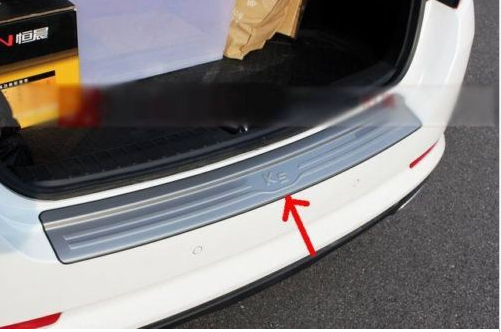 ФОТО Rear Bumper Protector Sill plate cover for KIA Optima K5 2011 2012 2013