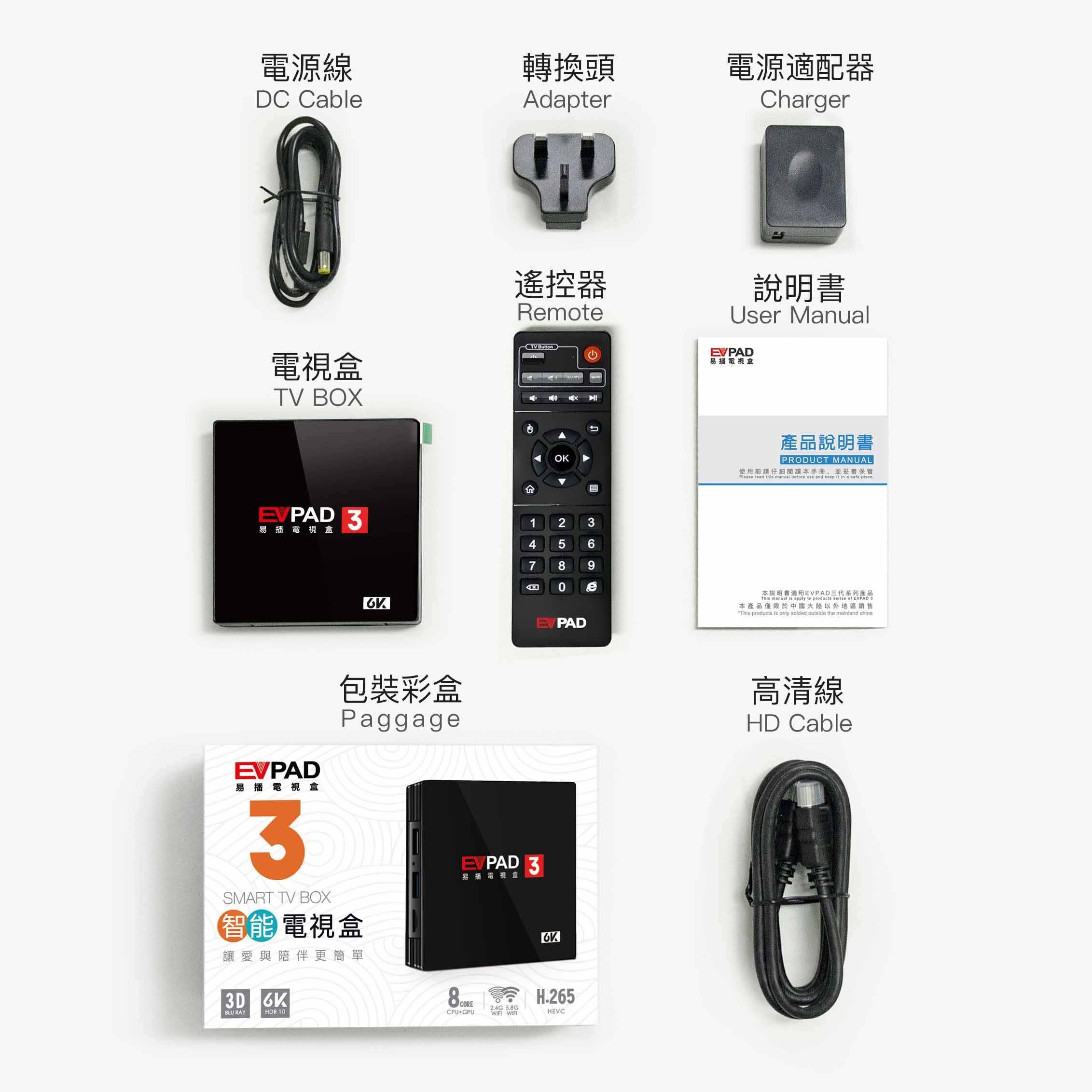 EVPAD 3 3S 3Max Android tv box z bezpłatnym IPTV chińskich Korea japonia indie indonezja HK tajwan malajski singapur z nami mecz piłki nożnej