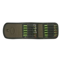 Tourbon Hunting Camouflage Holder Cartridge Buttstock Ammo Pouch Tactical Rifle Stock Bandolier