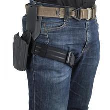 TMC ремень для бедра эластичный ремешок для бедра кобура ноги вешалка военные, армейские, охотничьи ремень с крючком TMC2955 черный